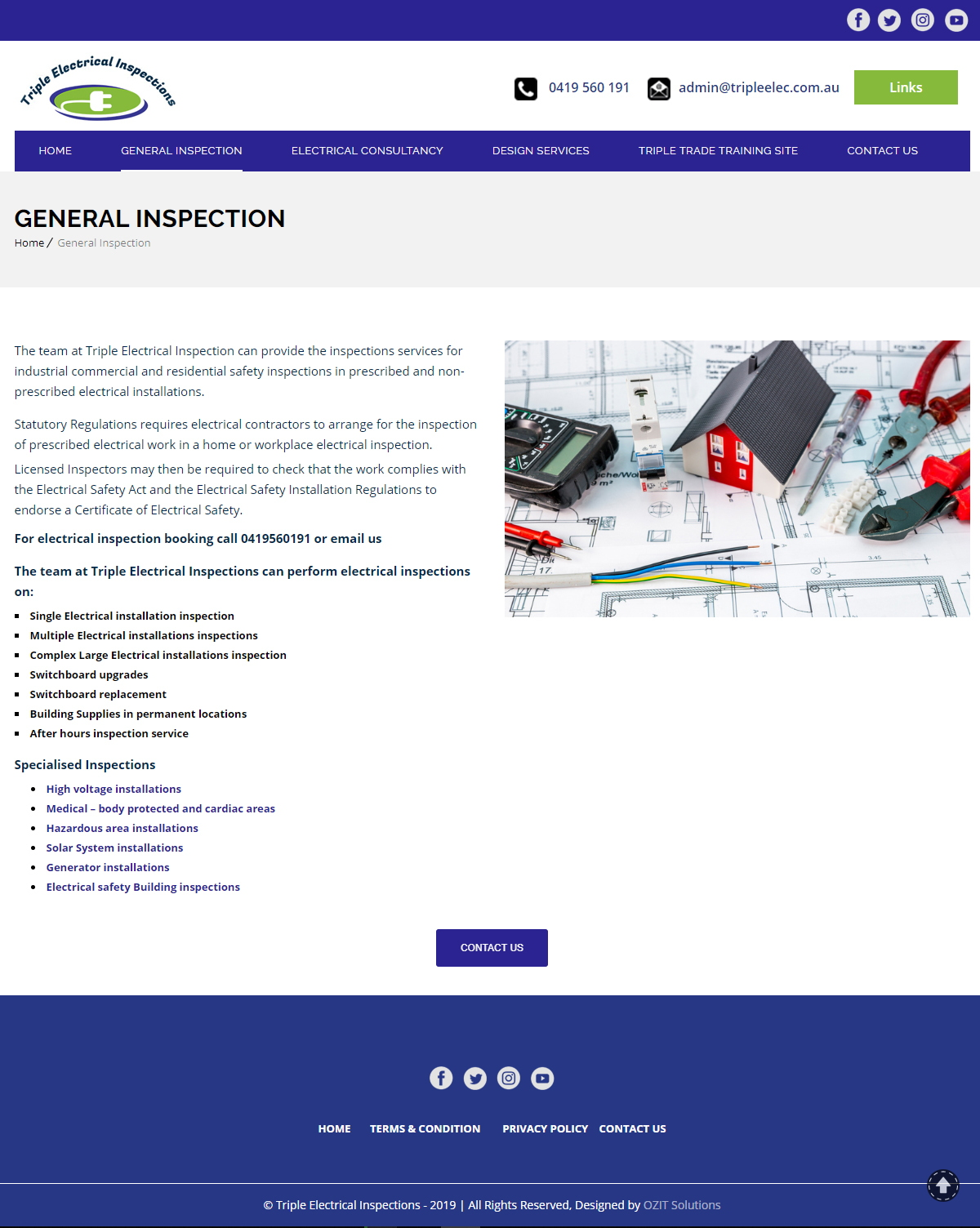 Triple Electrical Inspections