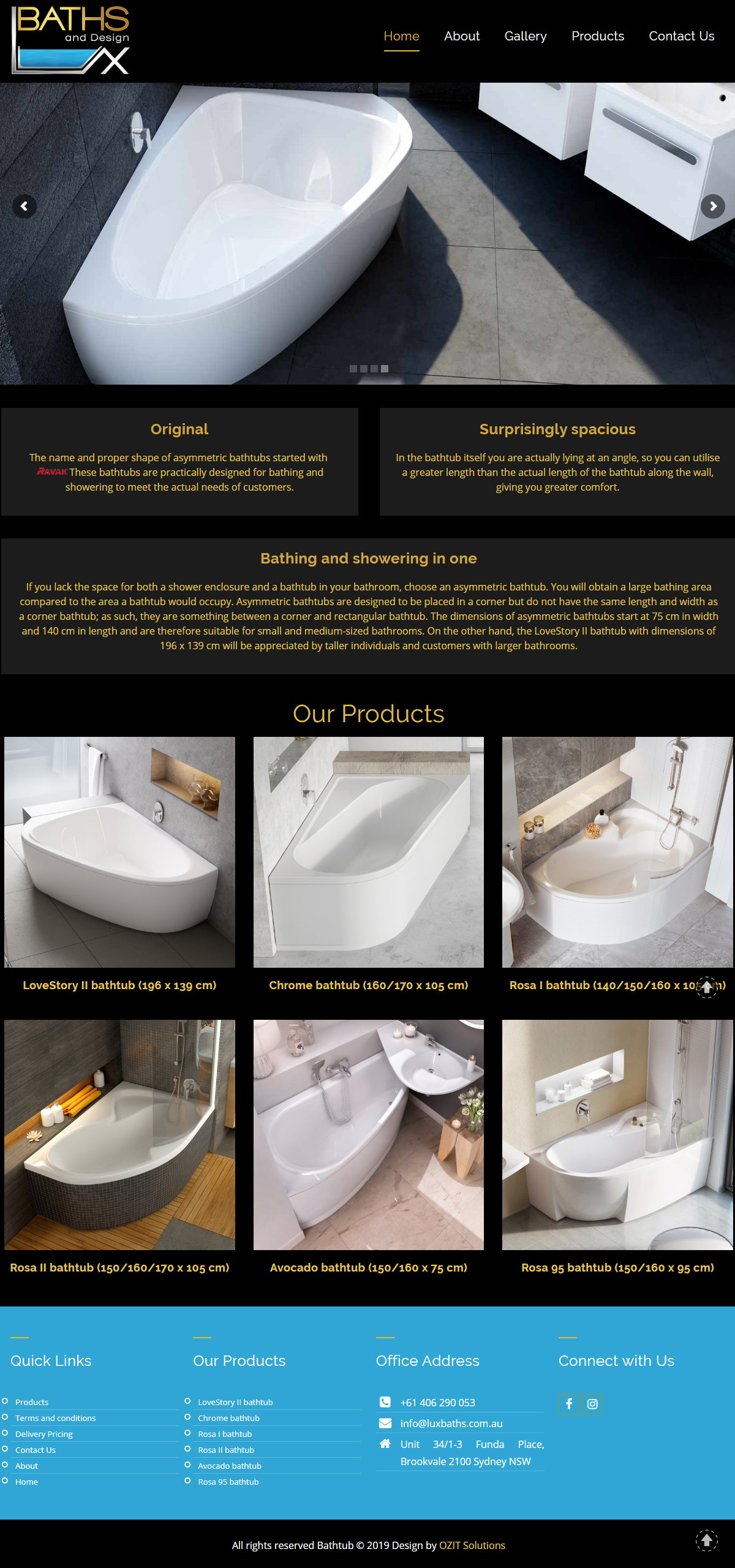 Lux Baths and Designs